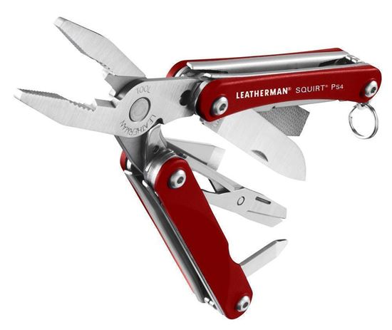 Picture of Leatherman Squirt PS4 Red - 6 interest free installments