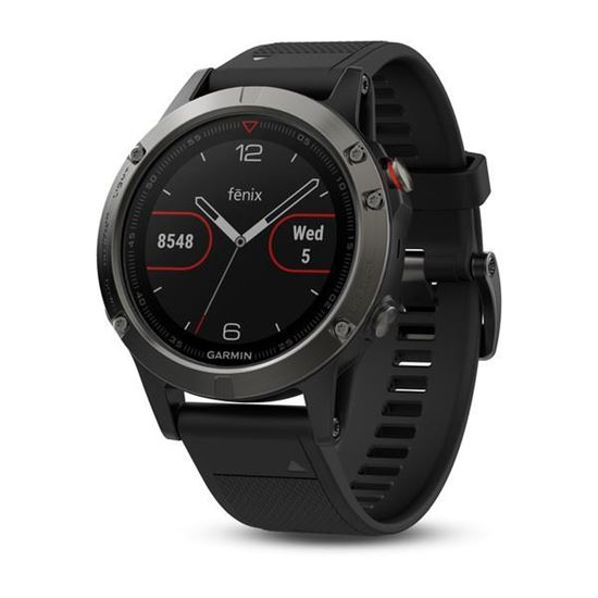 Picture of Garmin fenix 5 Slate Gray with Black Band - 12 interest free installments