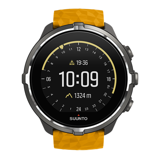 Picture of Suunto Spartan Sport Wrist HR Baro Amber - 18 άτοκες δόσεις