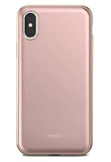 Picture of Moshi  iGlaze Taupe Pink Case for iPhone X