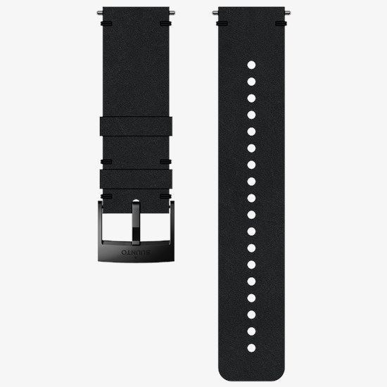 Picture of Suunto 24mm Urban 2 Leather Strap Black (Medium)