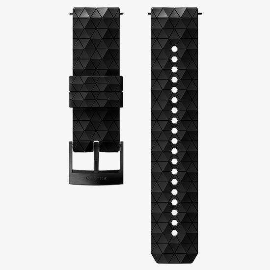 Picture of Suunto 24mm Explore 2 Silicone Strap Black/Black (Medium)