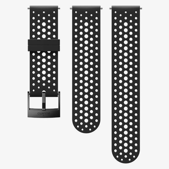 Picture of Suunto 24mm Athletic 1 Silicone Strap Black/Black