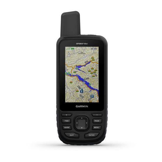 Picture of Garmin GPSMAP 66st TopoActive Europe & TopoDrive & BirdsEye  - 12 interest free installments