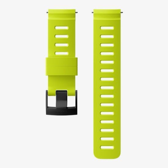 Picture of Suunto 24mm Dive 1 Silicone Strap Lime Black (Medium)