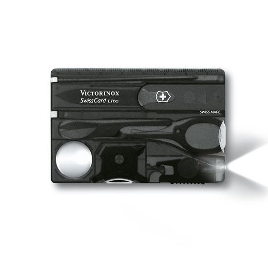Picture of Victorinox SwissCard Lite Black Trasparent
