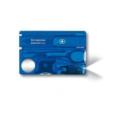 Picture of Victorinox SwissCard Lite Blue Trasparent
