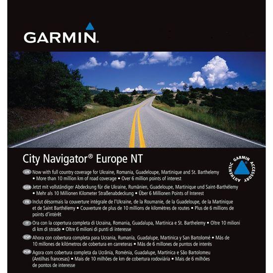 Picture of Garmin City Navigator Europe NT microSD