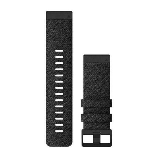 Picture of Garmin QuickFit 26 Heathered Black Nylon Band - 12 interest free installments