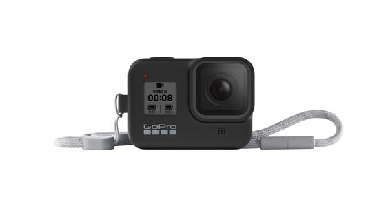 Picture of GoPro Sleeve + Lanyard Black for Hero8 Black