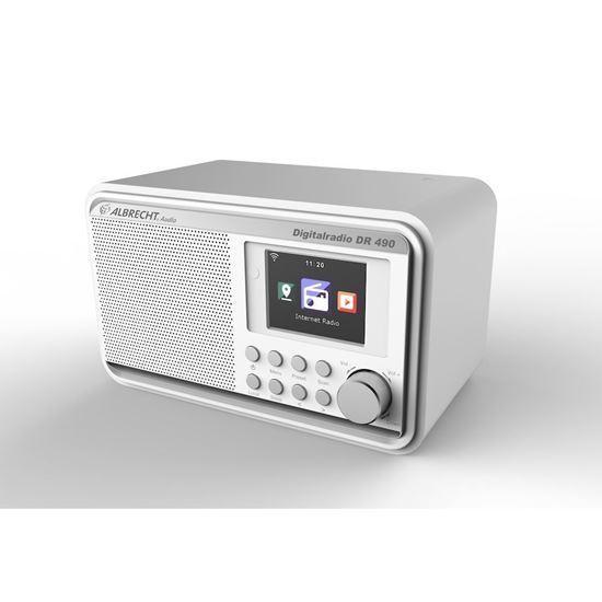 Picture of Albrecht DR 490 White Internet Radio/ DAB + / FM - 6 interest free installments