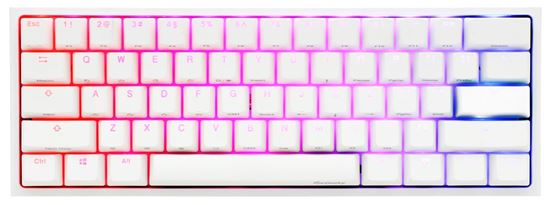 Picture of Ducky One 2 Mini White RGB Cherry Mx Silent  Red - 6 άτοκες δόσεις