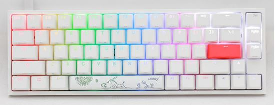 Picture of Ducky One 2 SF White RGB Cherry Mx Silent Red