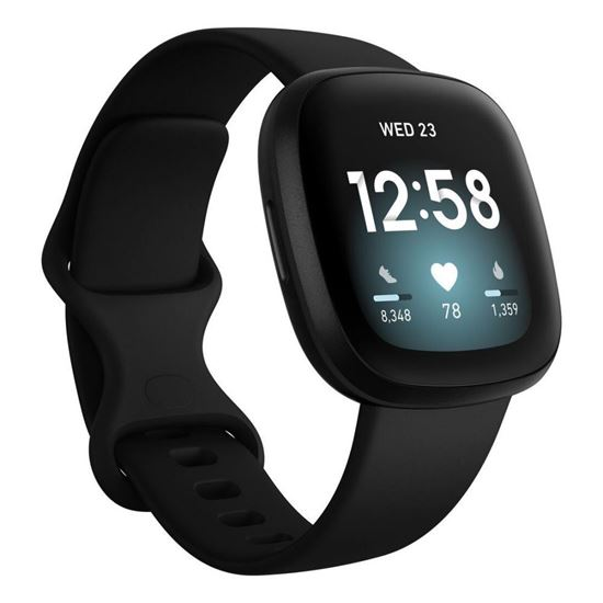 Picture of Fitbit Versa 3 Black / Black Aluminum - 12 interest free installments
