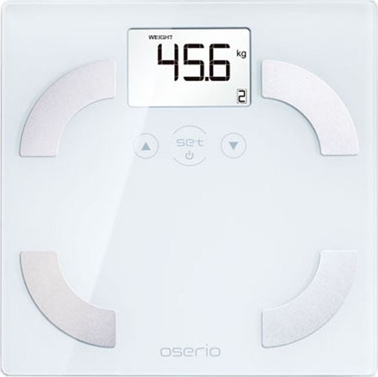 Picture of Oserio Body Fat Monitor FEG-113 White