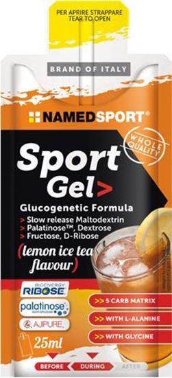 Picture of NamedSport Sport Gel Lemon Ice Tea 25ml