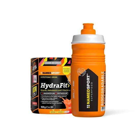Picture of NamedSport HydraFit Red Orange 400g + Free Bottle