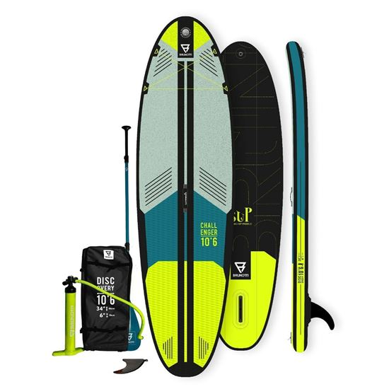 Picture of Brunotti Challenger iSUP 10.6 Yellow- 12 interest free installments